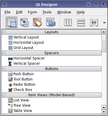 Qt 4 1: The New Qt Designer